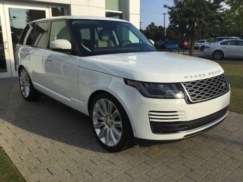 New 2020 Land Rover Range Rover HSE 4WD